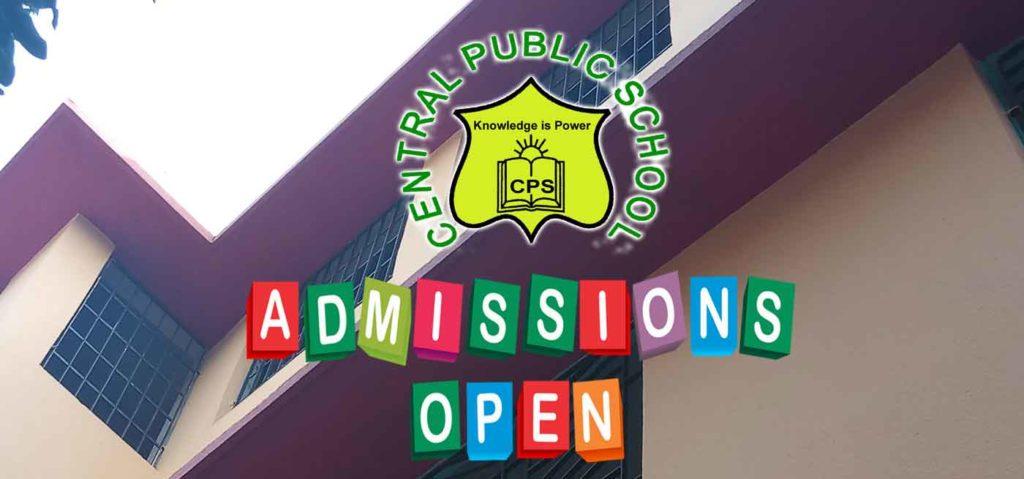 Admission central public school